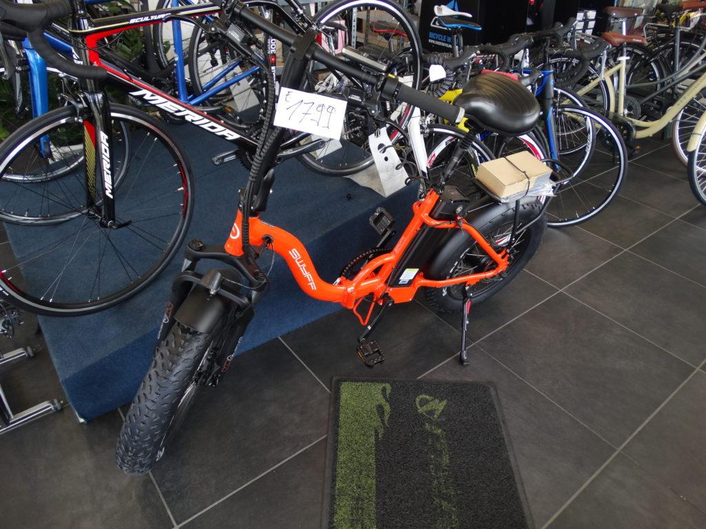 opvouwbare E-bike ideaal voor op reis tenemen